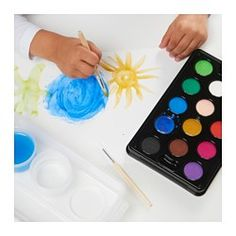 MÅLA Watercolor box, assorted colors - - - IKEA