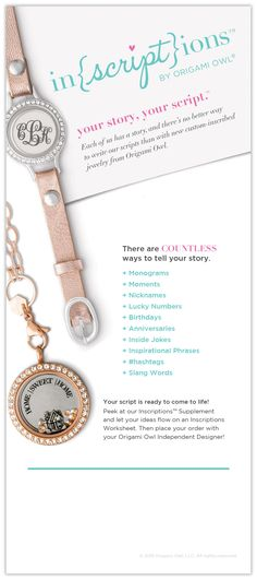 Make it a one-of-a-kind gift!  #mothersday #gifts #teampossible https://journeytojewels.origamiowl.com