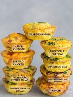 9 Low Carb Breakfast Egg Muffin Cups are packed with protein and perfect for busy mornings, weekend or holiday brunch. Best of all, so easy make-ahead breakfast for on the go. keto no cook Keto Egg Cups - 9 Delicious & Easy Low Carb Breakfast Recipes Breakfast Egg Muffins Cups, Low Carb Egg Muffins, Low Carb Breakfast Easy, Perfect Breakfast, Healthy Egg Muffins, Omelette Muffins, Bacon Egg Muffins, Breakfast To Go, Egg White Muffins
