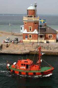 Helsingborg Lighthouse, Sweden.