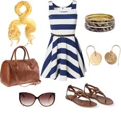 Great casual outfit for summer
