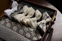 vintage ties for the groomsmen