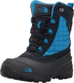 THE NORTH FACE YOUTH THERMOBALL UTILITY (11 Little Kid M, COSMIC BLUE/BLUE ASTER). Lightweight, warm PrimaLoft® ThermoBallTM insulation plus waterproof construction for cold, wet days. Warm 200 g PrimaLoft® ThermoBallTM synthetic insulation. Secure-fit lacing system. Waterproof construction. Light, flexible TPR shell bottom with a TNF Winter Grip® rubber sole for winter protection.