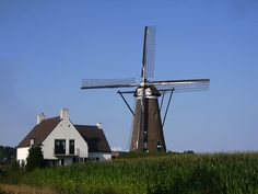 Roosdonck Windmill in Eindhoven, Netherlands - sight map, attraction information, photo and list of walking tours containing this attraction. Get offline map and directions using our GPSmyCity self-guided walking tours app for your mobile device. Eindhoven, Walking Tour, Utility Pole, Wind Turbine, Holland, Dutch, Places To Visit, Tours, Building