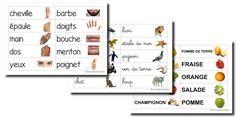étiquettes mots - La classe de Laurène