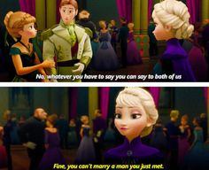 "Frozen's Elsa: Elsa always wanted the best for her sister, Anna, and challenges Disney's recurring theme of ""love at first sight"". She even learned how to conquer her fears and uses her powers to save Anna and her kingdom."