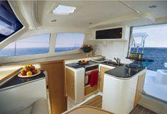 Leopard 4000 Catamaran – Bay Of Islands Bareboat Yacht Charter Sailboat Charter, Bay Of Islands, Boat Interior, Cool Boats, Life Hacks, Life Tips, Boat Rental, Catamaran, Boating Fun