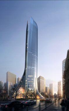 Conceptual Architecture, Architecture Visualization, Futuristic Architecture, Amazing Architecture, Architecture Design, Future Buildings, Tower Design, Futuristic City, Amazing Buildings