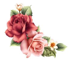 """Photo from album """"Flowers PNG. Decoupage Glass, Decoupage Vintage, Decoupage Paper, Flower Png Images, Rose Images, Arte Floral, Victorian Flowers, Vintage Flowers, Flores Vintage Png"""