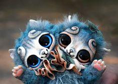 Freak Kittens by GakmanCreatures on Etsy