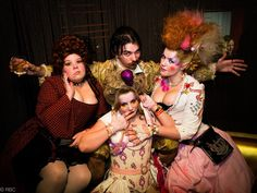 """Where has Rococopunk been all my life? This obstinately silly new trend imagines a world where """"the Rococo period never ended, and it had a lovechild with Sid Vicious,"""" according to WonderHowTo's Austin Sirkin. The face makeup looks like something out of Liquid Sky and the costumes have a wonderfully decadant pallette. Nobody is ever going to say that Rococopunk has anything to do with goths discovering the color brown."""