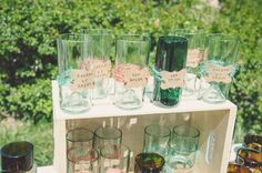 Ranch Wedding Glasses as Favors