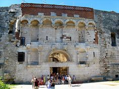 Sites in Split: Diocletian's Palace Gates