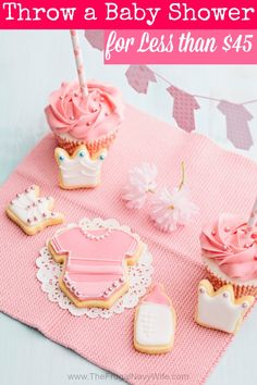 How to Throw a Baby Shower for Less than $45 - The Frugal Navy Wife