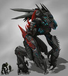 Jura Mech Battle Suit by Ryonok