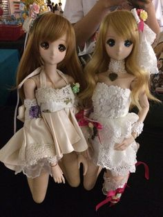 Smart Doll Mirai Suenaga and Kizuna Yumeno by ying_tze