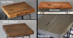 Industrial Urban Reclaimed Wood Desk with Raw Charcoal Pipe Legs - FREE SHIPPING. Built by Hand. Guaranteed for Life.