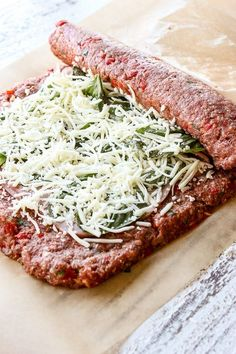 Sicilian Meatloaf - Lisa's Dinnertime Dish dinner recipes for family crockpot The Best Chili Recipe I've Ever Made (Slow Cooker) Best Chili Recipe, Chili Recipes, Healthy Recipes, Meatball Recipes, Healthy Meatloaf Recipes, Stuffed Meatloaf Recipes, Sausage Meat Recipes, Hamburger Meat Recipes Easy, Cheese Stuffed Meatloaf