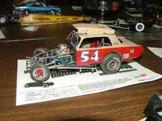 Dirt Race Car Model.