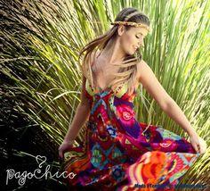 Pago Chico verano 2014. Estilo Hippie Chic. Moda 2014.