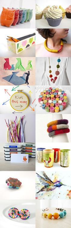 Some Color please!!! by Maria on Etsy--Pinned with TreasuryPin.com Etsy, Color, Colour, Colors