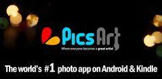 Awesome Studio PicsArt!  INSTALA PicsArt - ¡Dónde el arte surge desde cualquier lugar!  PicsArt combina las mejores características de muchas de las aplicaciones para fotografía. Es uno de los mejores y más completos editores para fotografía disponibles gratuitamente en el mercado de dispositivos Android.