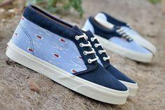 #vans california ikat chukka #Sneakers