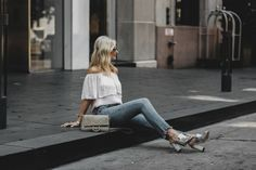 CHIC AT EVERY AGE FEATURING THE COLD SHOULDER TOP + AN EXCITING ANNOUNCEMENT