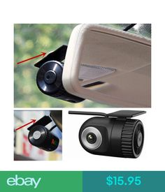 Digital Video Recorders, Cards 360° Hd Mini Car Dvr Video Recorder Hidden Dash Cam Vehicle Camera Night Vision #ebay #Electronics