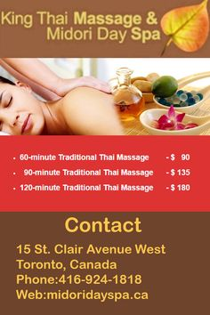Thai Massage Toronto involves maneuvering of client into a series of yoga poses and requires his participation as well. Read more....