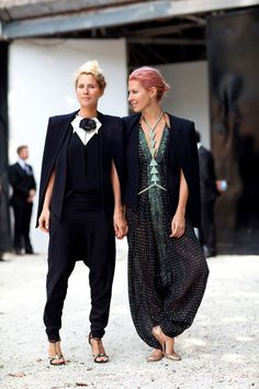 Street Style Spring 2013 - London Fashion Week Street Style - Harper's BAZAAR...Love it!