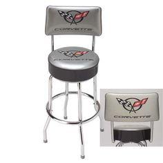 C5 Corvette Backrest Counter Stool