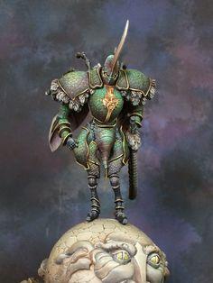 Wie schon bei meinem ersten Post angekündigt, ist als nächstes erneut eine Miniatur von Kingdom Death fällig.   Diesmal handelt es sich um d...