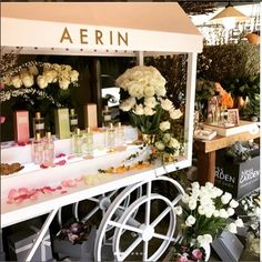 Love seeing our beautiful Rose Colognes in Korea #AERINbeauty