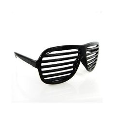 Shutter Shades Classic Sunglasses: Hip-Hop/Kanye West/Electronic feel.