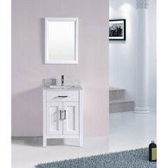 24 inch Belvedere Bathroom Vanity Set with Top