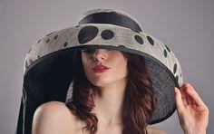 Tiffany extra wide brim hat by NatashaMilliner on Etsy