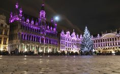 """Brussels, Belgium 1 of 13   Brussels' Christmas market has been around only since 2002, but it pulls off its Plaisirs d'Hiver/Winter Pret (""""Pleasures of Winter"""") festival with elegant style."""