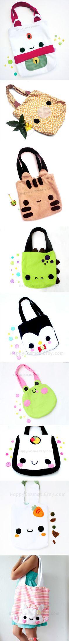bolsos de animalitos kawaii