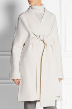 Acne Studios | Hava oversized boiled wool coat | NET-A-PORTER.COM