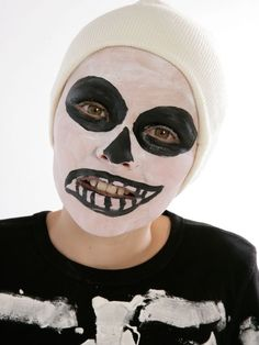 how to make halloween skeleton costume tutorial step by step ...