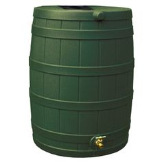 Good Ideas Rain Wizard 50 gallon Rain Barrel with Oak finish can provide 50 gallons of pure, unchlorinated water when municipalities declare periods of low water usage. During heavy rain falls, a typi Rain Barrel Stand, Rain Barrels, Bjs Wholesale, Rain Collection, Gallon Of Water, Mesh Screen, Lawn And Garden, Garden Shop, Garden Art