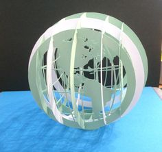 Globe in sliceform