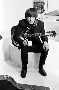 George Harrison - the 'nicest' of the Fab Four.