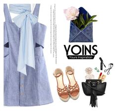 """""""Yoins II"""" by gabyidc ❤ liked on Polyvore featuring Bobbi Brown Cosmetics, Vince Camuto, Yves Saint Laurent, Armadoro, Creative Works, MDS Stripes, yoins, yoinscollection and loveyoins"""