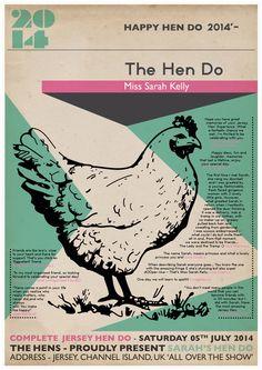 Hen poster