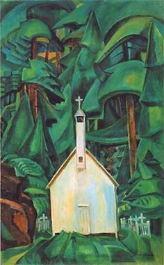 Emily Carr Indian Church 1929 oil on canvas, located in Art Gallery of Ontario Tom Thomson, Canadian Painters, Canadian Artists, Emily Carr Paintings, Gottfried Helnwein, Dulwich Picture Gallery, Canada Landscape, Art Gallery Of Ontario, Group Of Seven