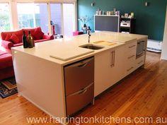 Kitchen Island - Harrington Kitchens