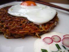 El restaurante del fin del mundo: Fideos crujientes con salsa dulce de jengibre y cebolleta