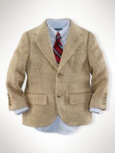 Polo Herringbone Jacket, possible Easter Jacket for David Jr.